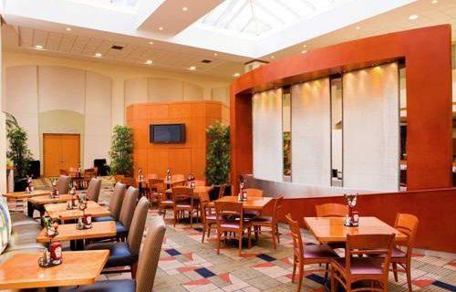 Embassy Suites Boston lobby