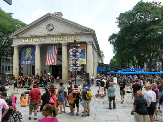 Quincy Market - Logan International Airport Boston